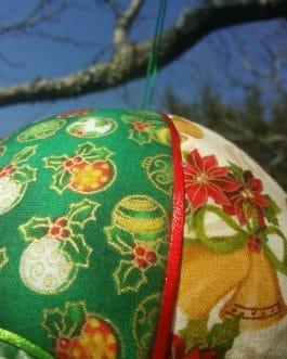 Montgolfière Cloches et Boules de Noël