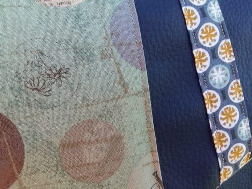 tissus décorratifs sac bleu marine. Bayonne (64)
