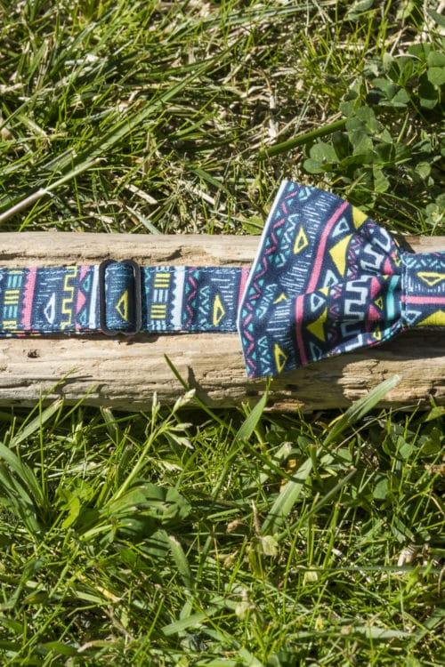 Noeud papillon - Bague coulissante pour le réglage des taille. Bayonne (64)