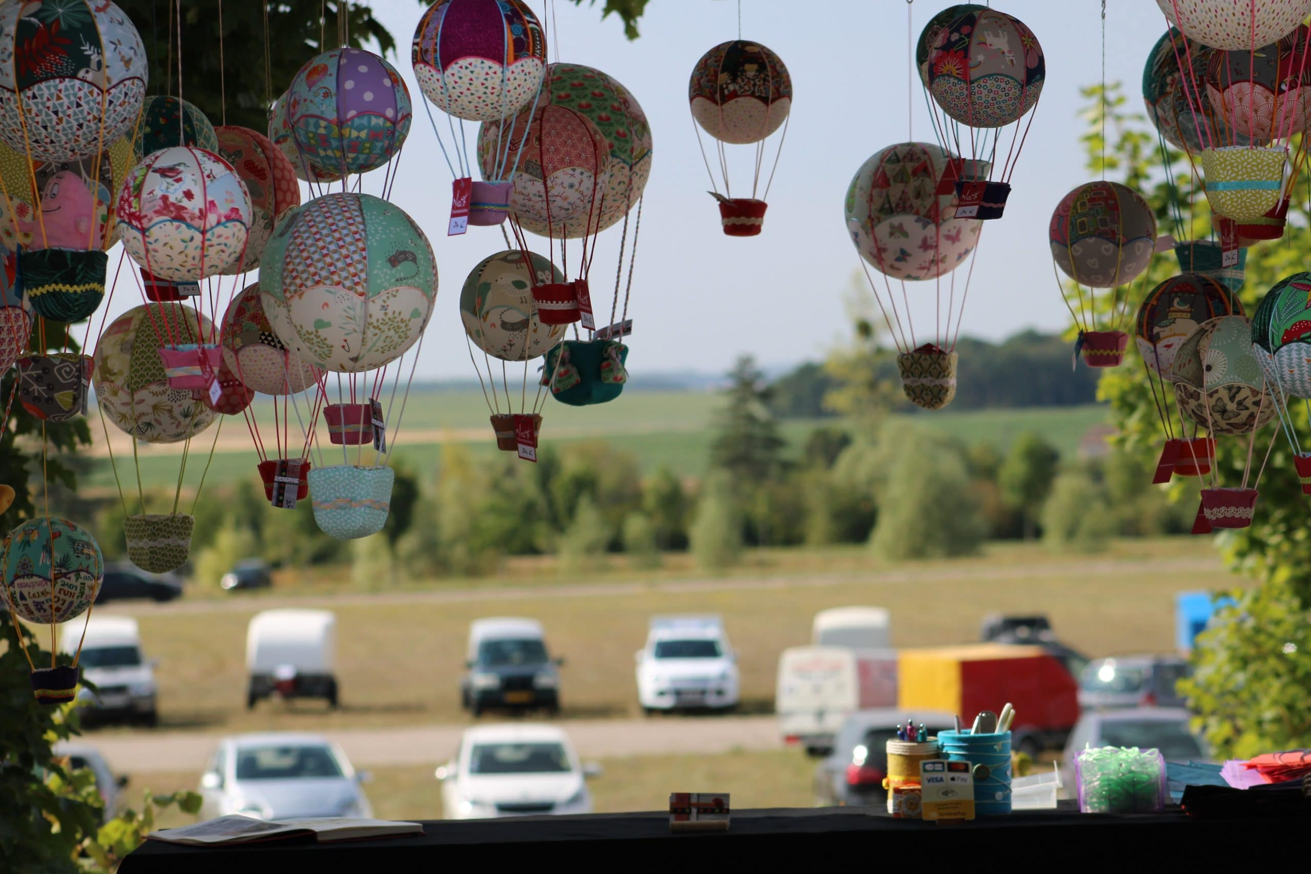 Montgolfières en tissu . Mondial Air Ballon 2019
