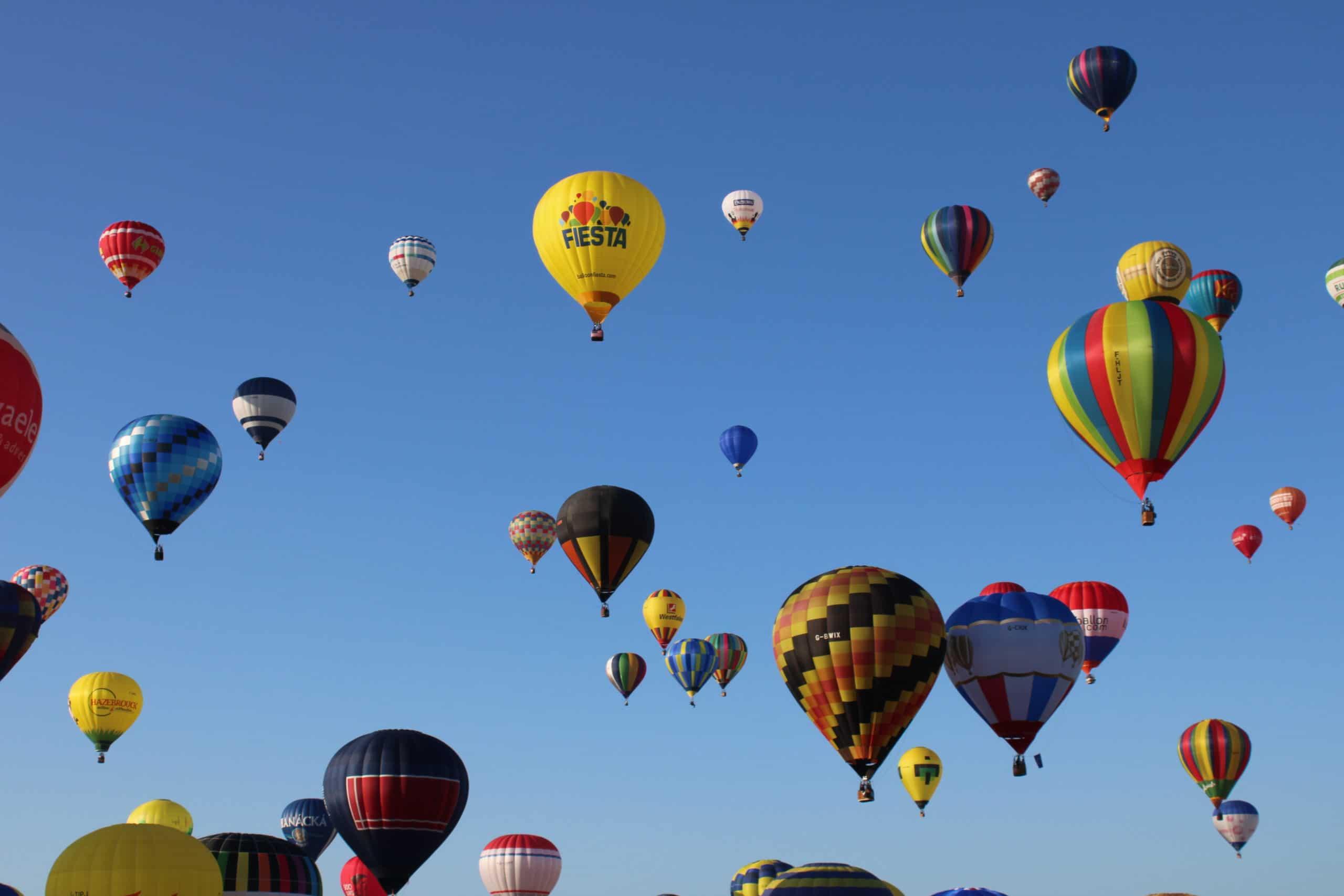 Envol de montgolfières - Mondial Air Ballon - Chambley (54)